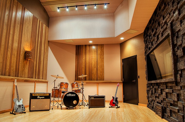 Interior Photography Vancouver, WA Audio Recording Studio